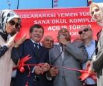 Sumeyye Erdogan Yemende Okul Acti